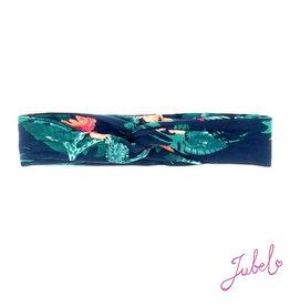 Jubel Haarband AOP - Botanic Blush Marine