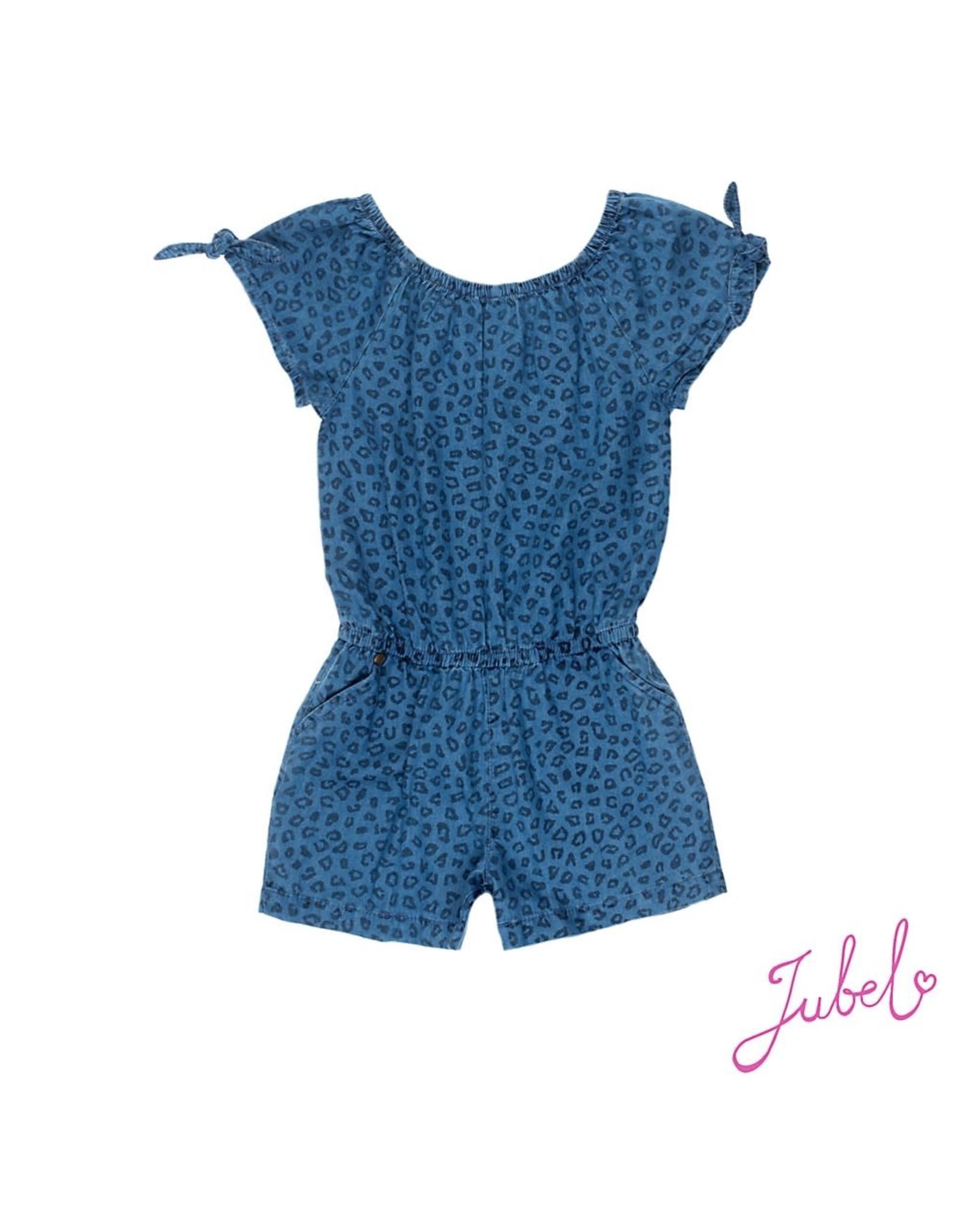 Jubel Denim playsuit AOP - Summer Denims Blue denim