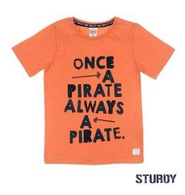 Sturdy T-shirt Once A Pirate - Treasure Hunter Oranje