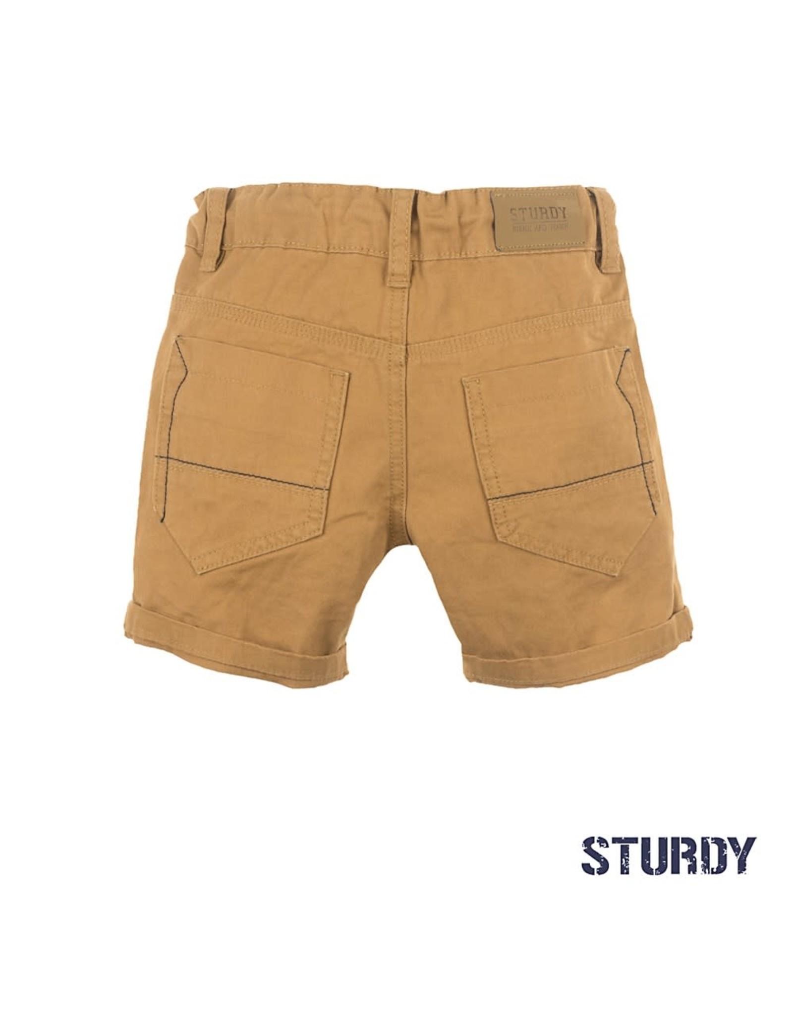Sturdy Chino short - Summer Denims Camel