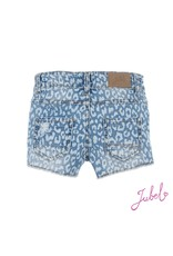 Jubel Denim short AOP - Summer Denims L.blauw denim