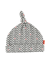 BESS Hat AOP Zigzag 001 White
