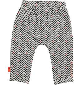 BESS Pants AOP Zigzag 001 White