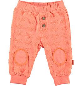 BESS Pants Stars Kneepads 013 Coral