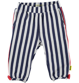 BESS Pants Striped with Piping 1 White