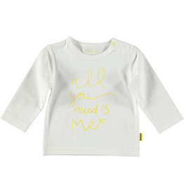 BESS Shirt l.sl. All you need is me 1 White