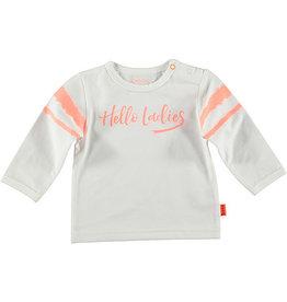 BESS Shirt l.sl. Hello Ladies 001 White