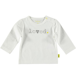 BESS Shirt l.sl. Loved 1 White