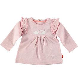 BESS Shirt l.sl. Ruffle Swan 007 Pink