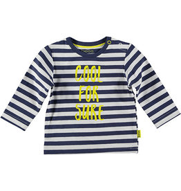 BESS Shirt l.sl. Striped Cool For Sure 5 Blue