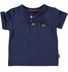 BESS Shirt sh.sl. King of Cool 5 Blue