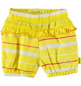 BESS Shorts Striped 10 Yellow