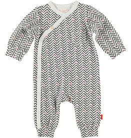 BESS Suit AOP Zigzag 001 White