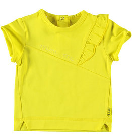 BESS Sweat Ruffle Mini Me 10 Yellow