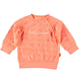 BESS Sweater Stars Little Dreamer 013 Coral
