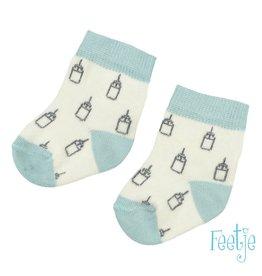 Feetje Sok - Milk Please Offwhite