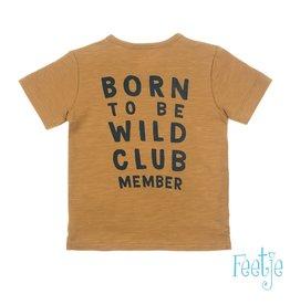 Feetje T-shirt Wild One - Born To Be Wild Camel