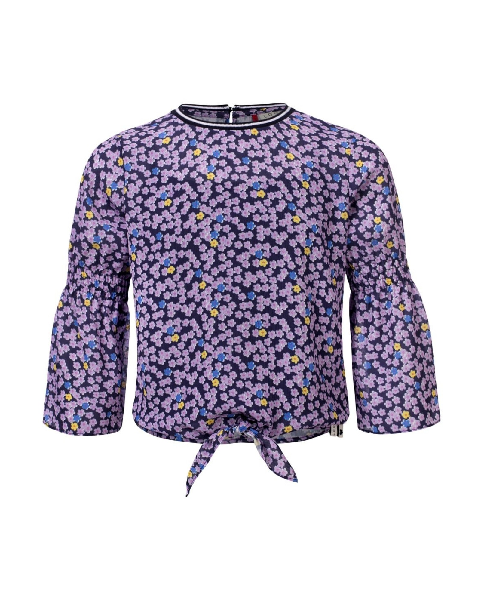 Looxs Girls blouse flare sleeve Flower AO