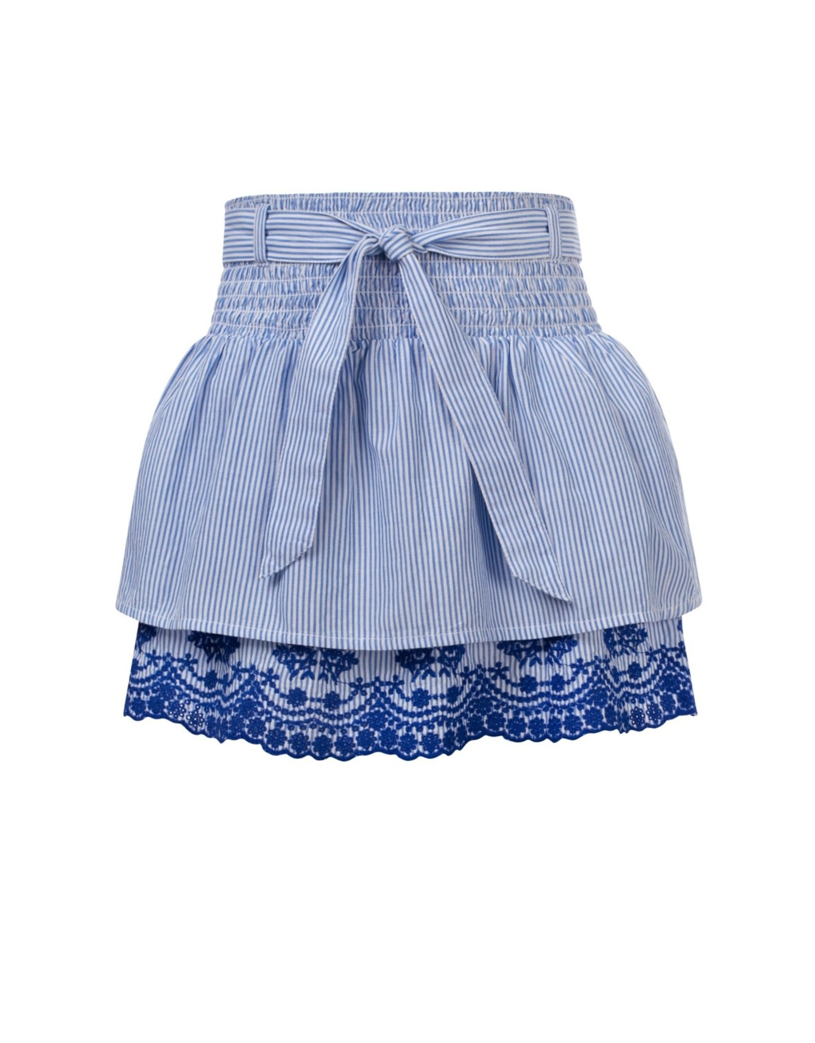 Looxs Girls skirt with broidery heaven stripe