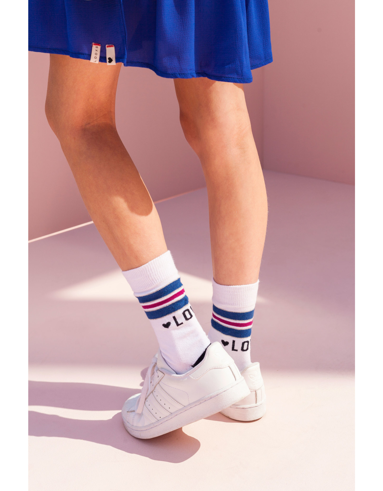 Looxs Girls socks off white