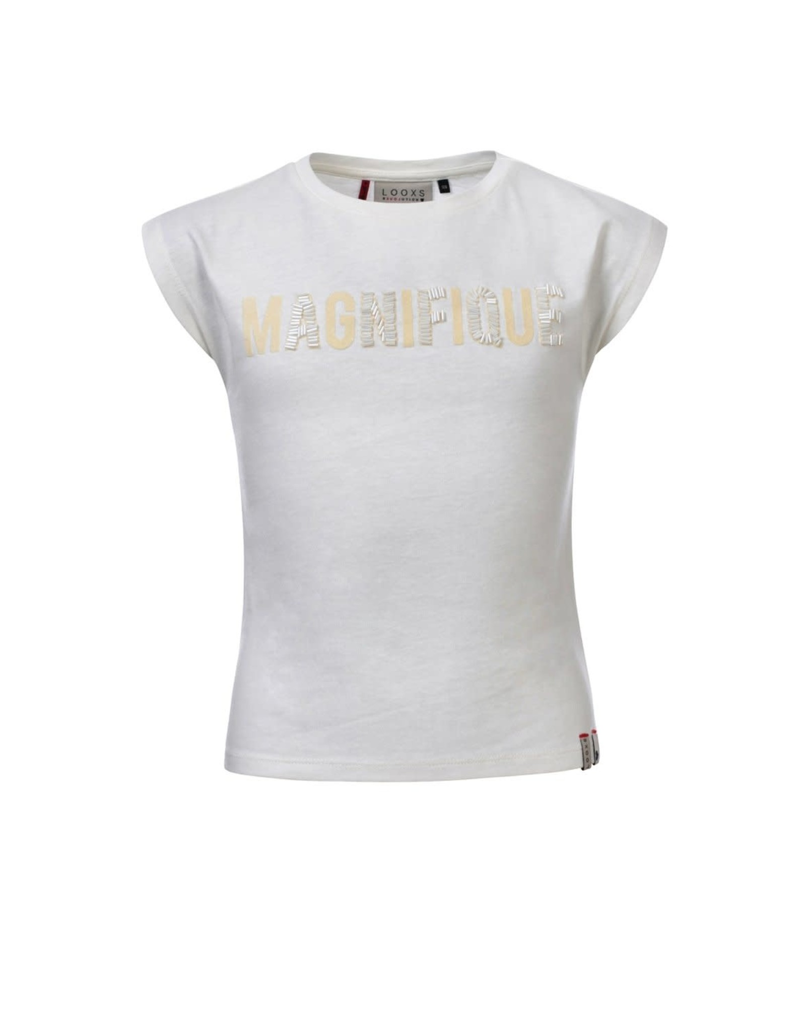 Looxs Girls T-shirt s/s off white