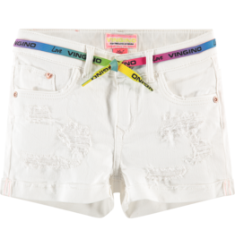 Vingino Dafina 175 White Denim High Waist