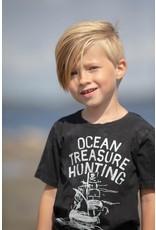 Sturdy T-shirt Ocean Treasure hunter  750 Antraciet