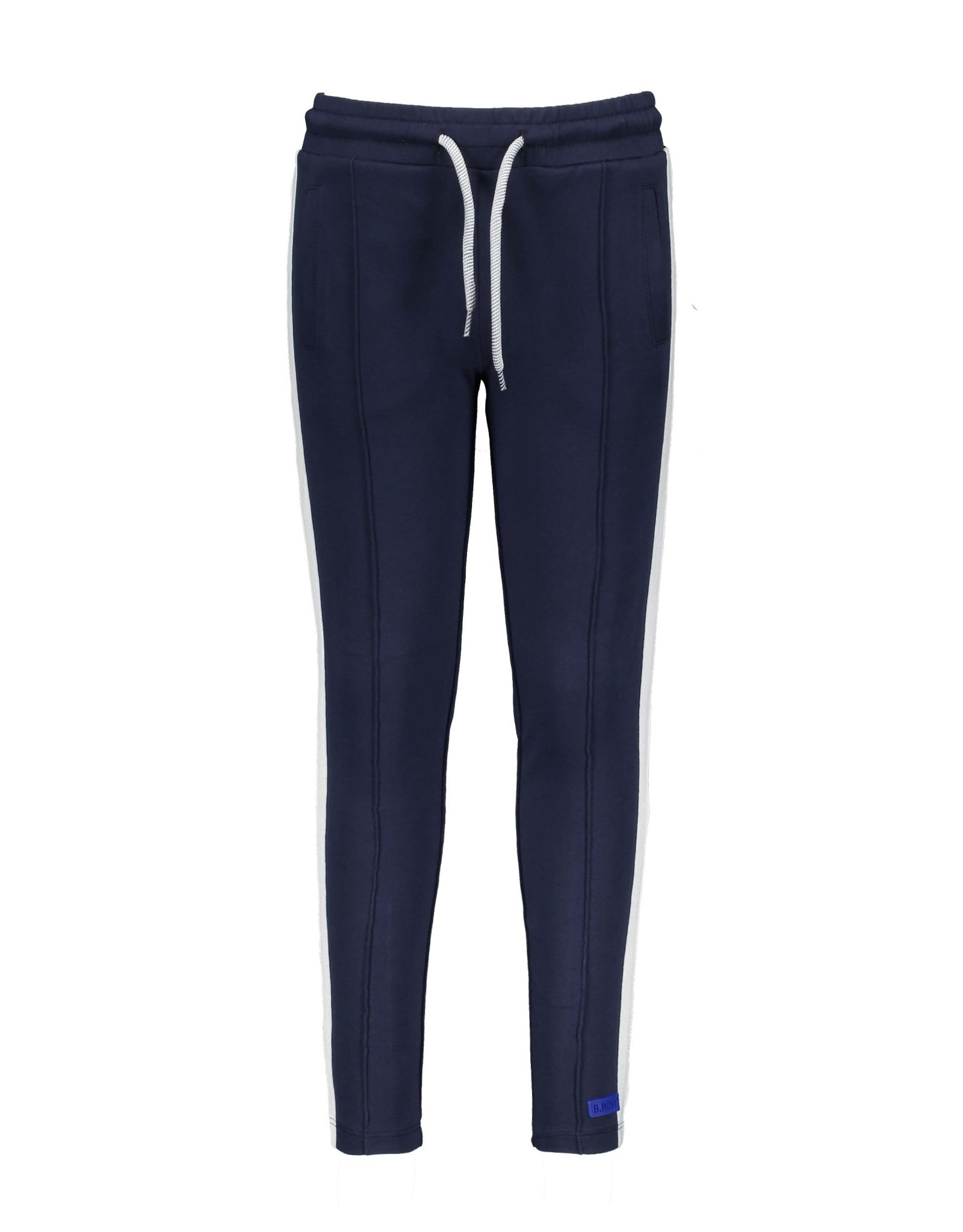 B-nosy Jogging with tape on sideseam and zipper opening at hem 129 Oxford blue