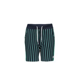 B-nosy Shorts with tape on sideseam 190 Striped