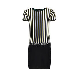 B-nosy Jurk with YDS top and lurex jersey skirt 11 4 Color stripe