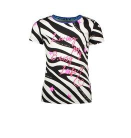 B-nosy T-shirt with artwork 30 AO Zebra