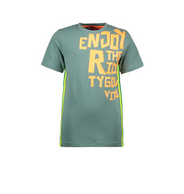 Tygo & vito T-shirt ENJOY the RIDE 340 Ice green
