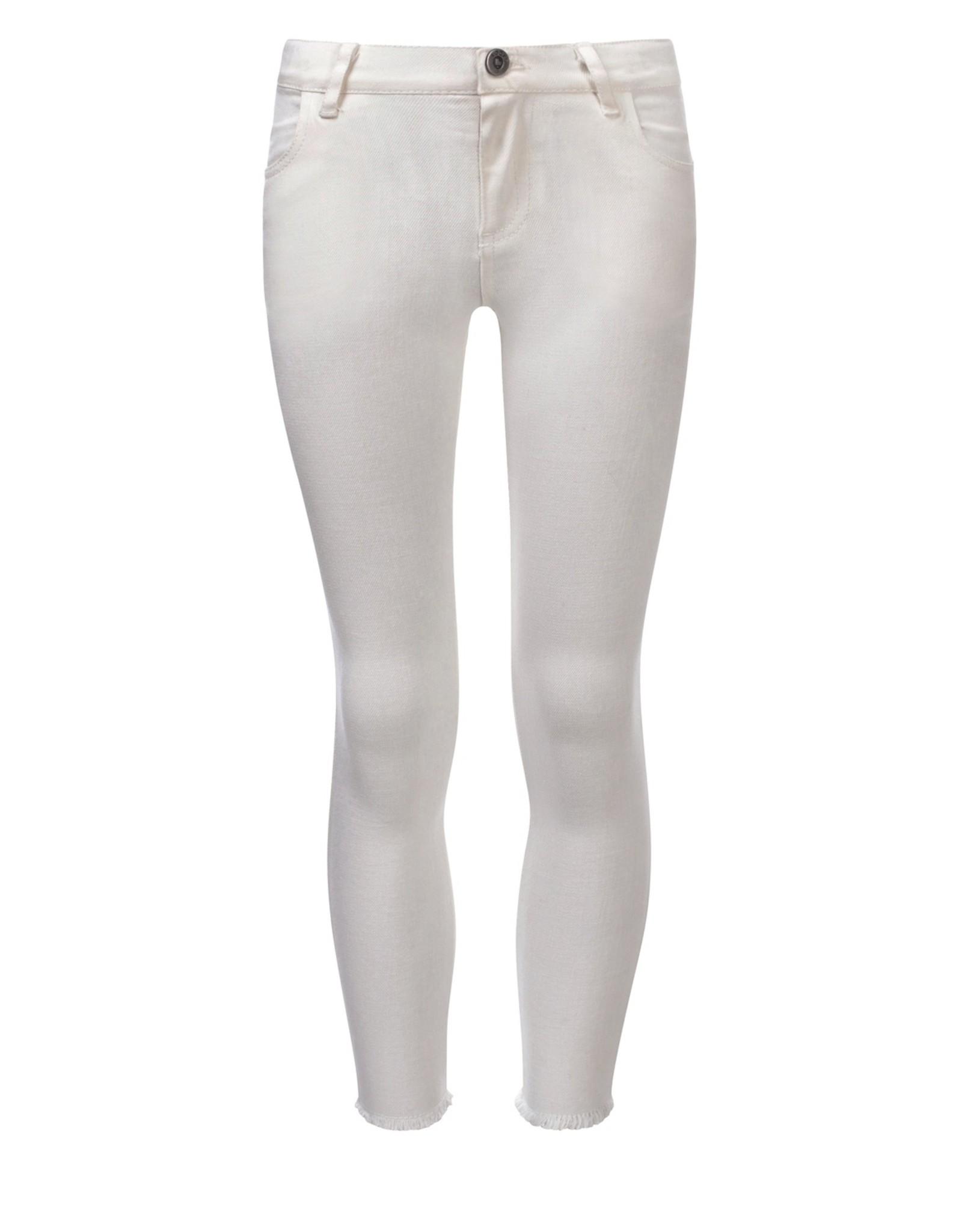 Looxs Girls white denim skinny off white