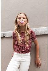 Looxs Girls woven wrap top pink panther