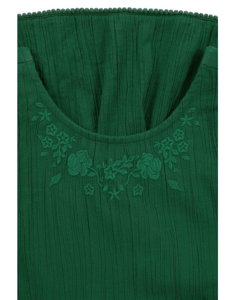 Looxs Little woven long dress palm