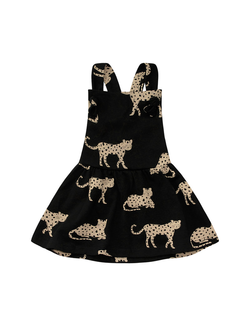 Your Wishes Wild Cheetahs | Dungaree Dress