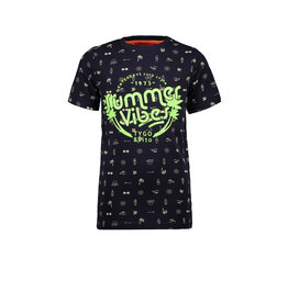 Tygo & vito T-shirt AOP summervibes 190 Navy