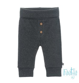 Feetje Broek - Mini Person Antaciet melange NOS
