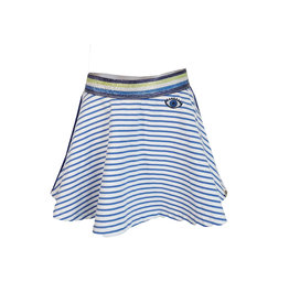 Topitm Skirt Holly stripe sea blue