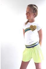 Topitm T-shirt Rainbow White