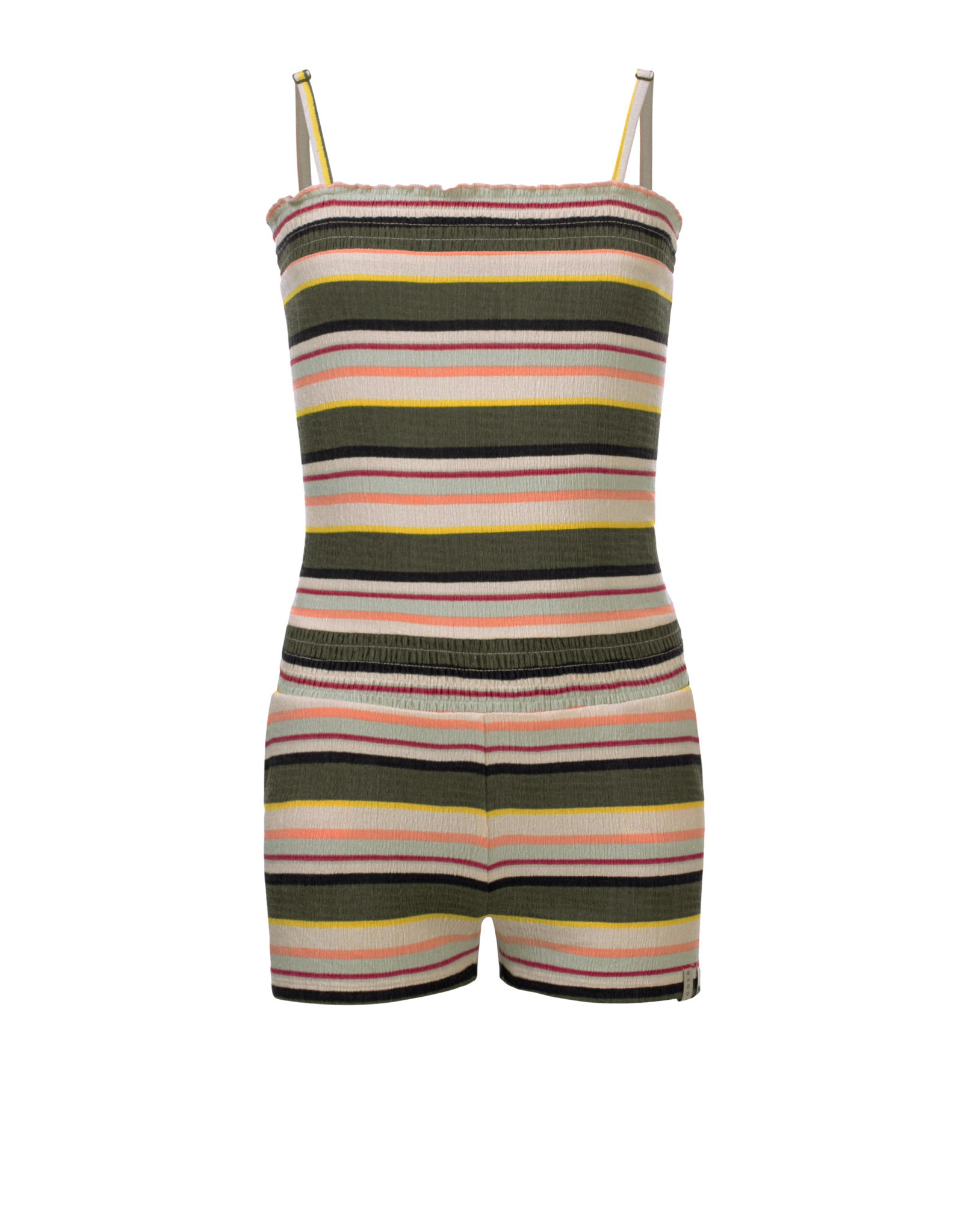 Looxs Girls short jumpsuit printed stripe