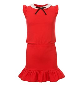 Looxs Little dress with collar Rose