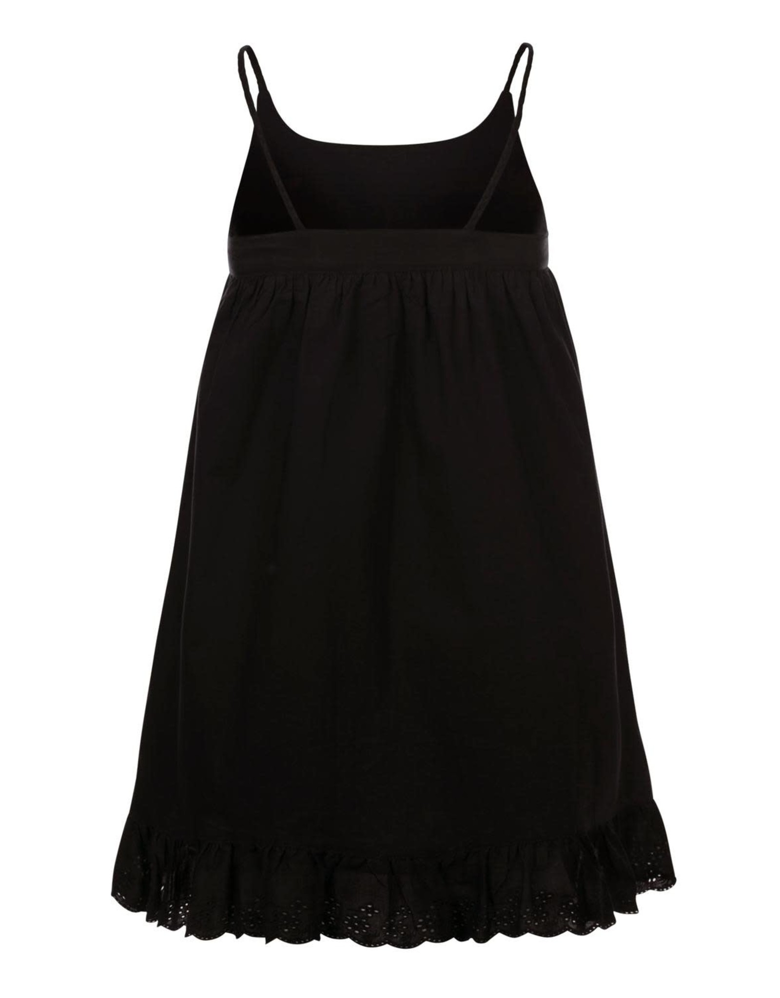 Looxs Little woven dress spaghe black