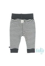 Feetje Broek streep - Mini Person Antracite
