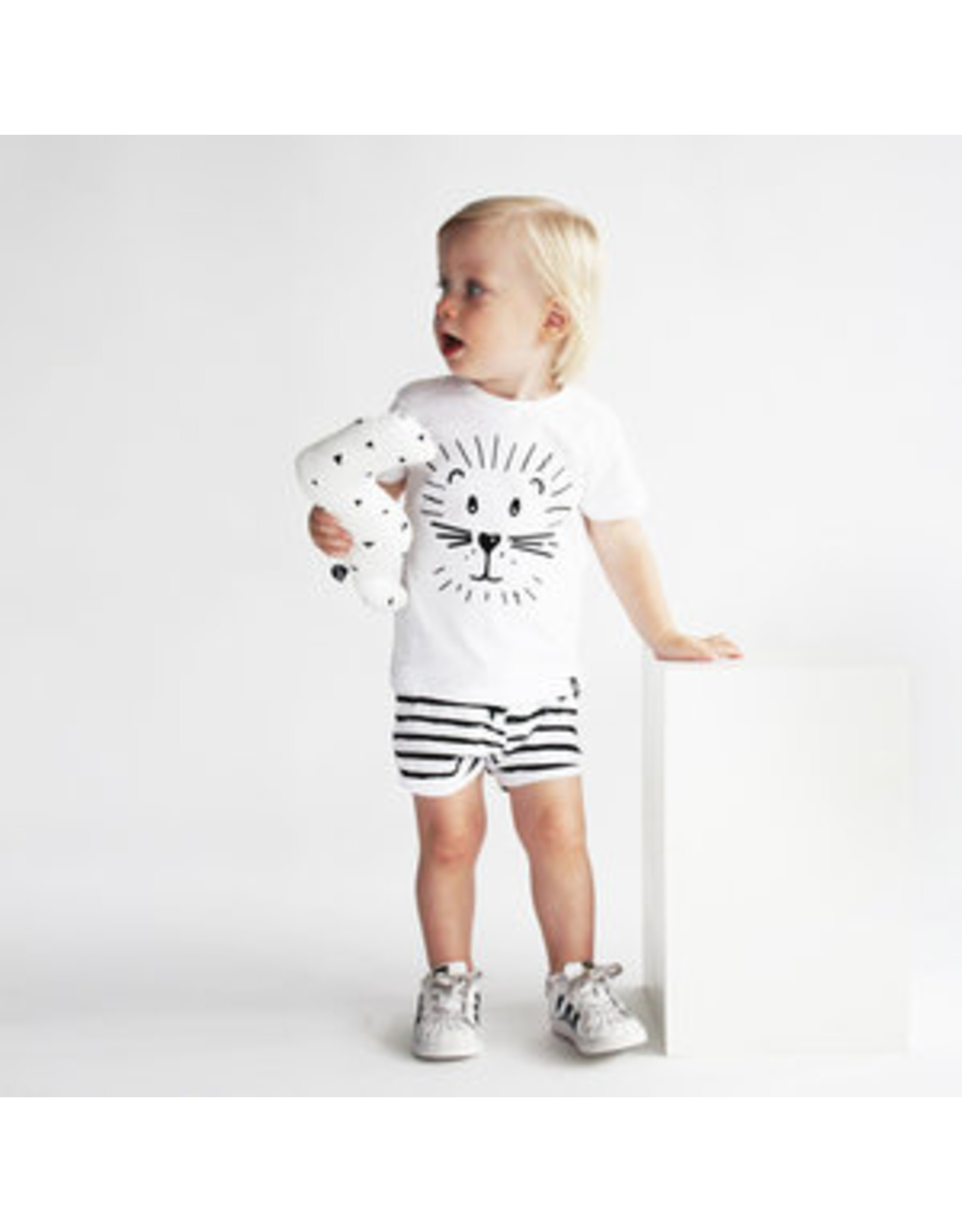 Your Wishes Stripes Off-White | Shorts
