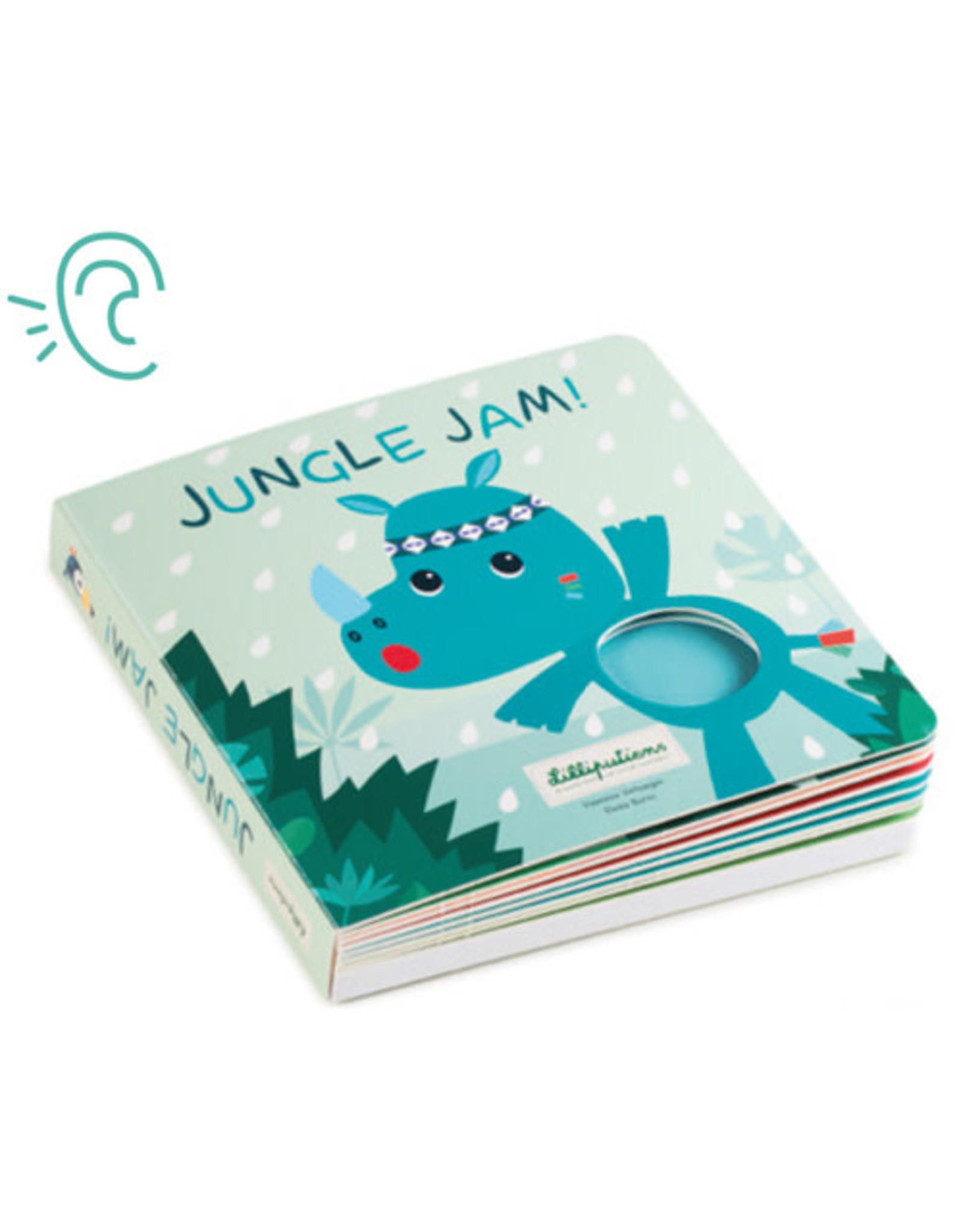 Lilliputiens Jungle Voelboek met geluiden