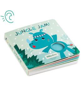 Lilliputiens Jungle Jam Voelboek met geluiden