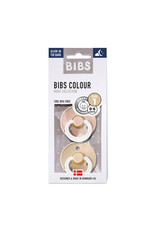 Bibs Fopspeen Glow in the dark Vanilla/Blush maat 1