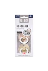 Bibs Fopspeen Glow in the dark Vanilla/Blush maat 2