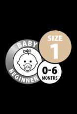 Bibs Fopspeen Baby Pink maat 1